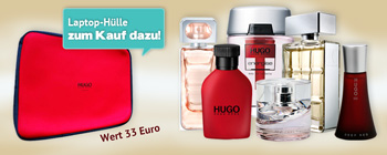 Hugo Boss - Laptop-Hülle gratis dazu!