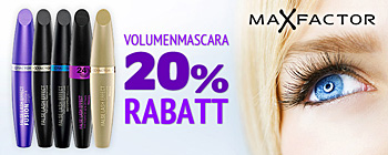 Max Factor False Lash Effects Mascaras - 20% Rabatt!