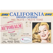 Autobalm California - Face Palette