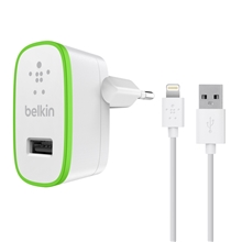 Belkin Home Charger - 2.1AMP w Lightning Cable