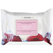 Cleansing Wipes Pomegranate