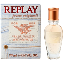 20 ml - Replay Jeans Original For Her