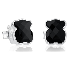 815433500 Silver Earrings with Onyx