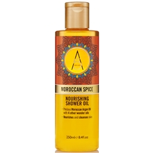 250 ml - Moroccan Spice Nourishing Shower Oil