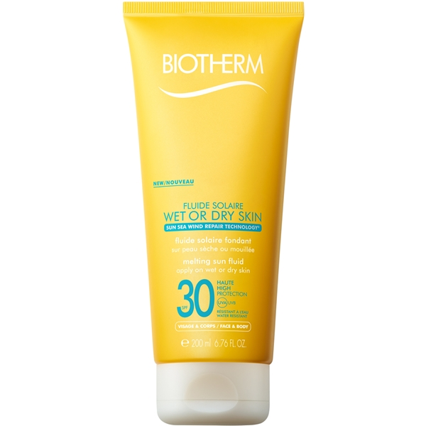 SPF 30 Fluide Solaire Wet or Dry