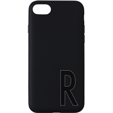Design Letters Personal Cover iPhone Black A-Z