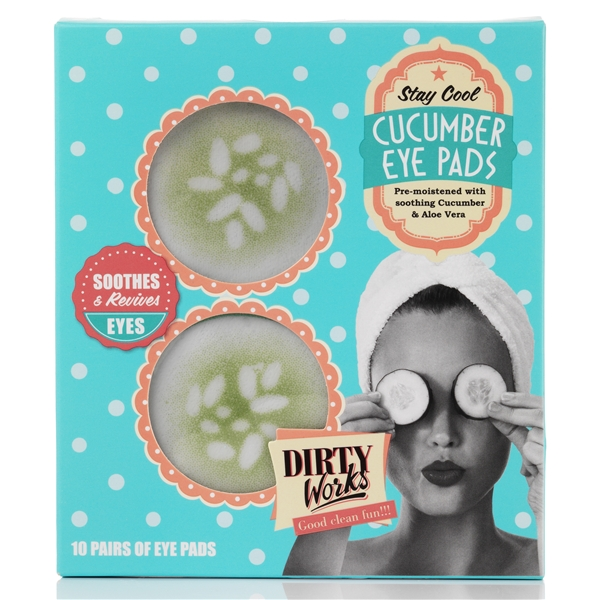 Stay Cool Cucumber Eye Pads