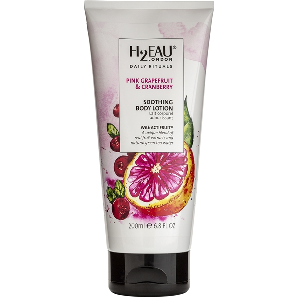 Pink Grapefruit & Cranberry Soothing Body Lotion