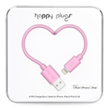Pink - Happy Plugs Lightning Charge/Sync Cable