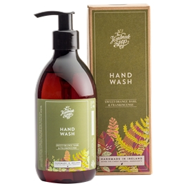 Hand Wash Sweet Orange, Basil & Frankinsence