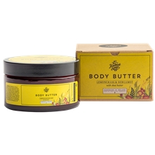 200 gram - Body Butter Lemongrass & Bergamot