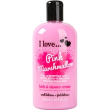 500 ml - Pink Marshmallow Bath & Shower Crème