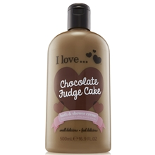 500 ml - Chocolate Fudge Cake Bath & Shower Crème