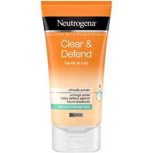 Clear & Defend Facial Scrub
