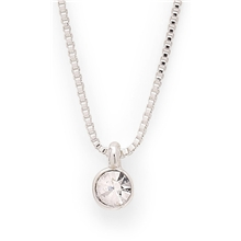 Lucia Small Crystal Necklace