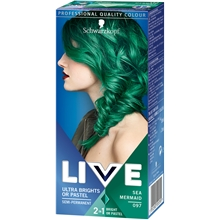 1 set - No. 097 Sea Mermaid - Live Color XXL HD Ultra Brights
