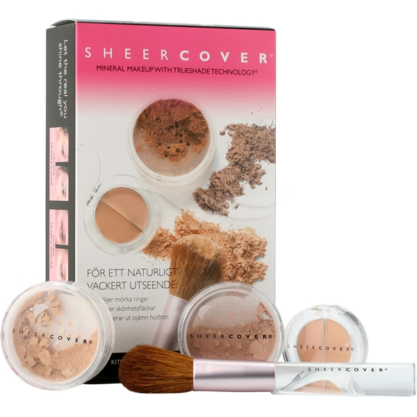 Sheer Cover Mineral Makeup System