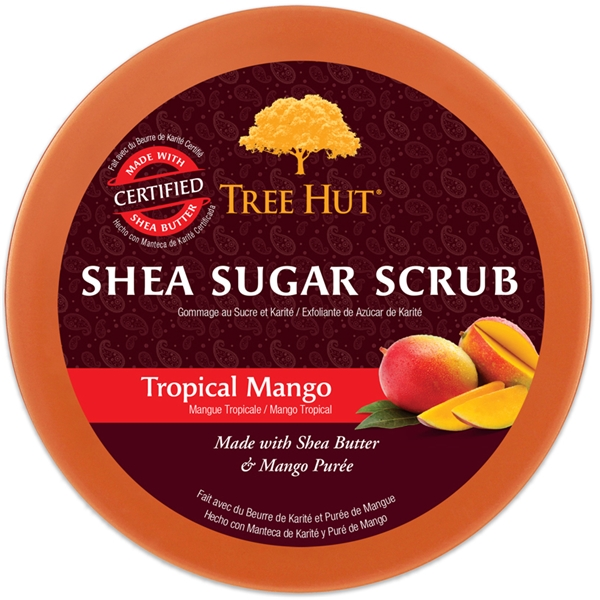 Tree Hut Shea Sugar Scrub Tropical Mango (Bild 2 von 2)