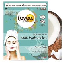 BIO Coconut Ideal Hydration Fabric Face Mask