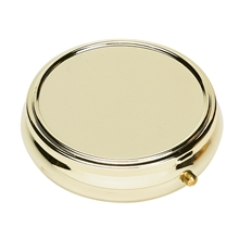 Pill Box Gold