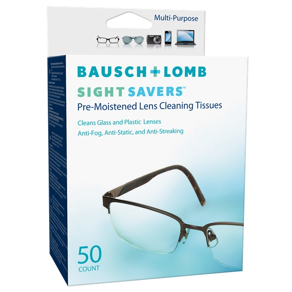 Sight Savers - Lens Cleaning Tissues 50p