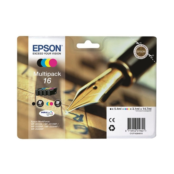 Epson 16 Multipack 4-colours